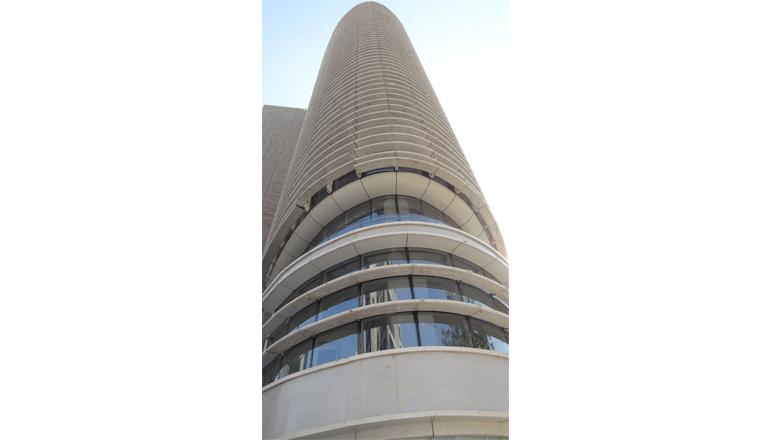 mondeal square facade