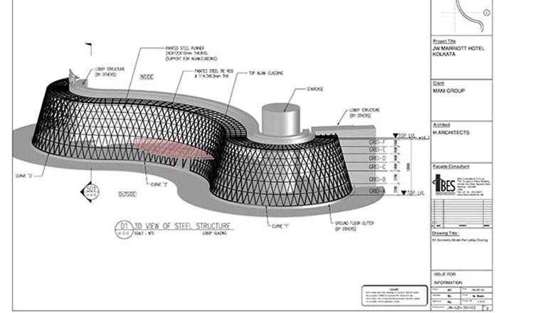 3d model facade