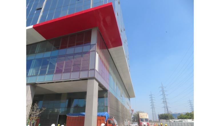 commercial facade gurgaon