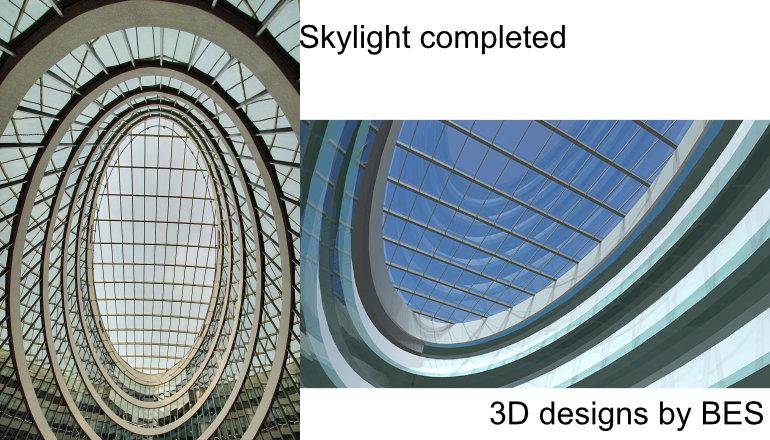 glass facade designs