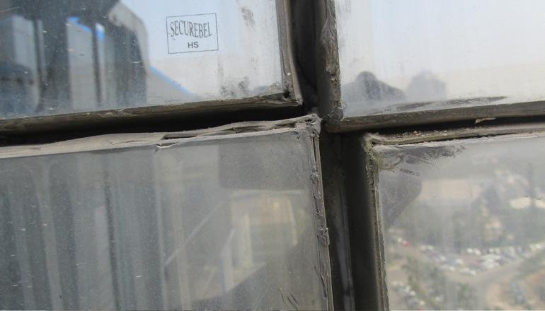 glass facade failures