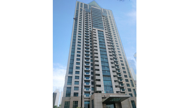 tall building facades