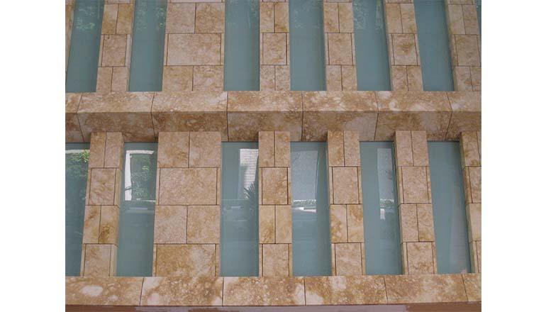 stone cladding facade